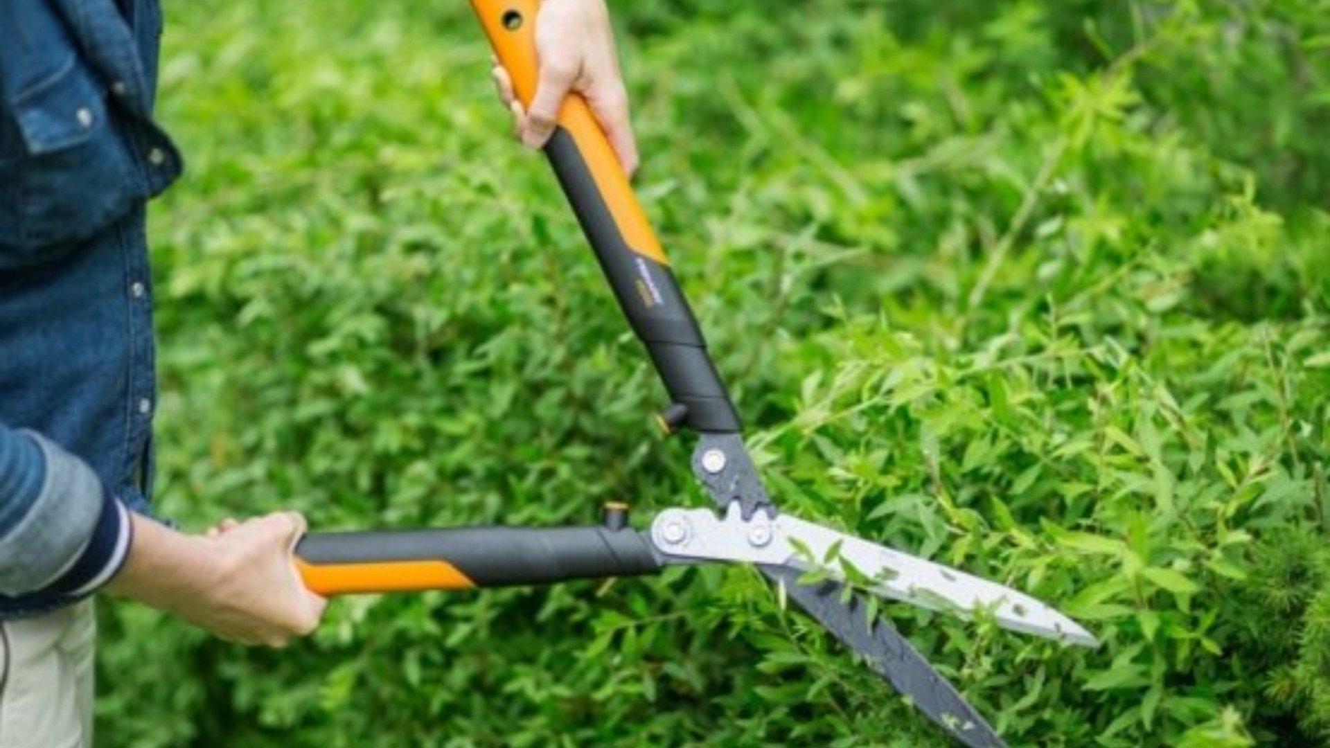 zahradnické nůžky fiskars